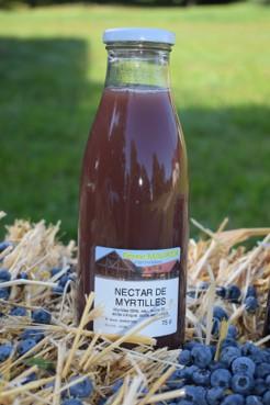 Nectar de myrtilles