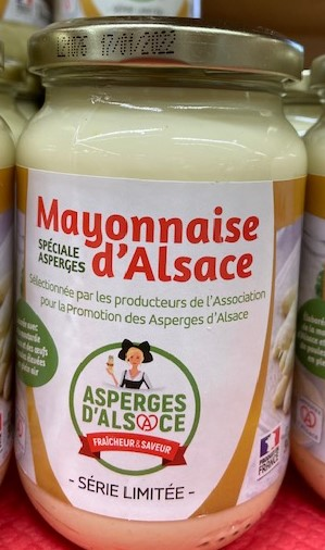 MAYONNAISE SPECIALE ASPERGES